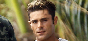 Zac Efron goes shirtless on the 'Baywatch' set: would you hit it?
