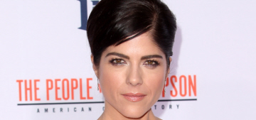 Selma Blair, 43, went out on a date with David Foster, 66: random or cool?