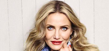 Cameron Diaz, 43, on menopause: 'Women who stress have it longer and harder'
