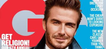 David Beckham has spent his retirement watching 'Frozen' on a loop with Harper