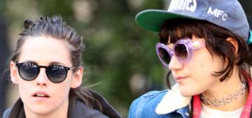 Kristen Stewart's bird-flipping grumpiness is rubbing off on her girlfriend Soko