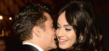 Orlando Bloom & Katy Perry made out at a resort outside and there are photos