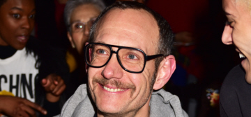 Terry Richardson, 50, is a first-time father to twin boys Rex & Roman