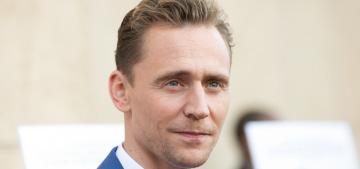 Tom Hiddleston & Elizabeth Olsen coupled up at the 'I Saw the Light' premiere
