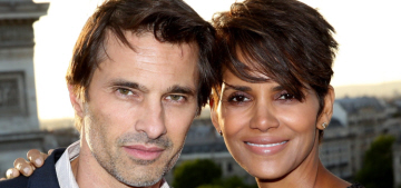 Halle Berry & Olivier's divorce is going so well, they're vacationing together