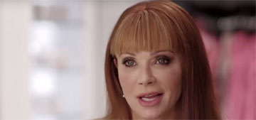 Lauren Holly, 52, denies plastic surgery, attributes her look to weight gain