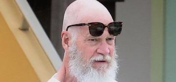 David Letterman debuts his Santa-esque retirement look: love it or hate it?