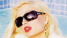 Paris Hilton masters the flat vacant eyes for Guess ad campaign