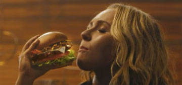 Hayden Panettiere does Carls Jr. ad: bad career move or doesn't matter?