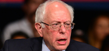 Bernie Sanders calls George Clooney's ritzy Clinton fundraisers 'obscene'