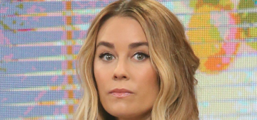 Does Lauren Conrad look 'different' while promoting her new book, 'Celebrate'?