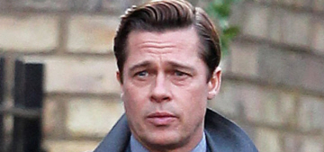 Brad Pitt & Marion Cotillard had a baby…. for 'Five Seconds of Silence'