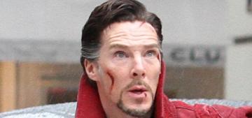 Benedict Cumberbatch films 'Doctor Strange' in NYC: amazing or meh?