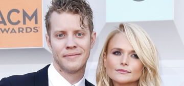 Miranda Lambert made her red carpet debut with Anderson East at the ACMs