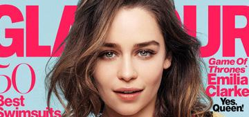 Emilia Clarke on why Jason Momoa never showed his bits: 'It's too fabulous'