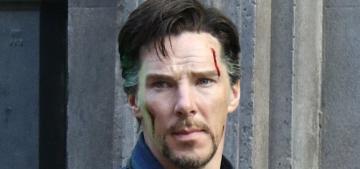 Benedict Cumberbatch is already back at work on 'Sherlock' Season 4