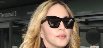 Madonna has arrived in London to meet with her #RebelHeart son Rocco