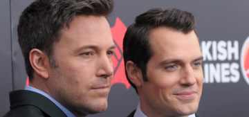 In Touch: Ben Affleck 'rolled his eyes' whenever 'stuffy Brit' Henry Cavill spoke