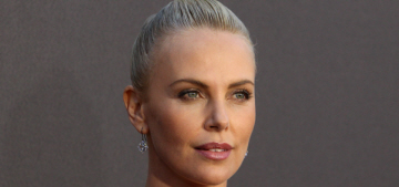Charlize Theron in McQueen at the MTV Movie Awards: regal or boring?