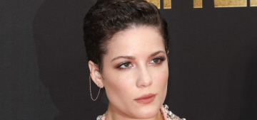 Halsey in Idan Cohen at the MTV Movie Awards: try-hard, ridiculous or cute?