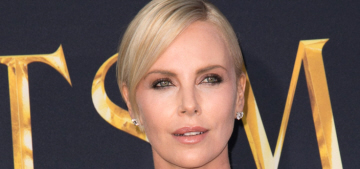 Charlize Theron in Dior at 'The Huntsman' LA premiere: gorgeous or boring?