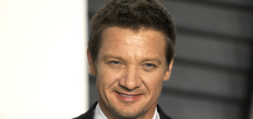 Jeremy Renner thinks it's 'important' to have more strong, badass female leads