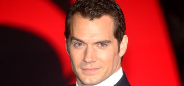 Star: Henry Cavill gave his 19-year-old girlfriend 'a sapphire promise ring'