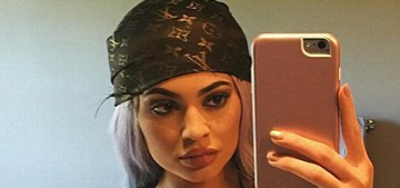Kylie Jenner's Coachella experience is all about luxury, Louis Vuitton monokinis