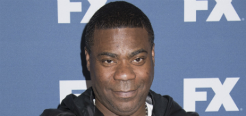 Tracy Morgan performed a special show for the medical staff who saved his life
