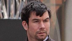 Jerry O'Connell takes care of twins while Rebecca Romijn goes back to work