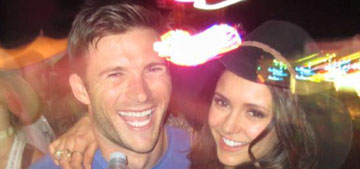 Nina Dobrev and Scott Eastwood hooked up at Coachella but it's 'not serious'