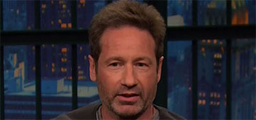 David Duchovny was about to propose when gf revealed she was engaged, pregnant