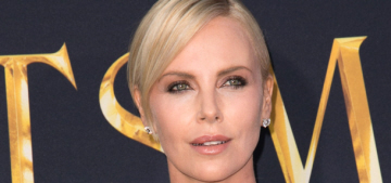 Charlize Theron admits that she 'had a bit of a rough time' with Tobey Maguire