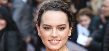 Daisy Ridley: My skin isn't great, I have a trainer, I don't always smile