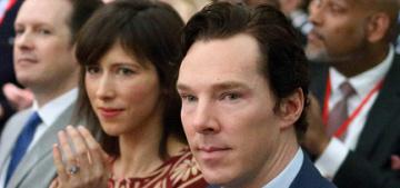 Benedict Cumberbatch & Sophie Hunter went to Pres. Obama's London forum