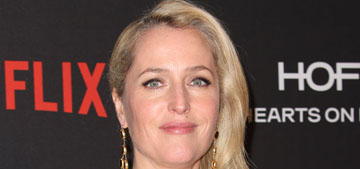 Gillian Anderson: I am a vain woman trying to embrace my aging face