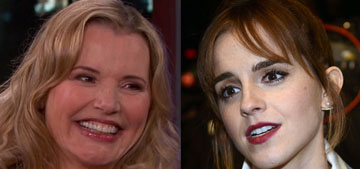 Emma Watson & Geena Davis on women in media: 'The numbers are horrifying'