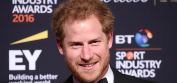 Hot Guy Friday: Prince Harry wore a tux for the BT Sports Industry Awards
