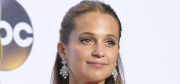 Alicia Vikander cast as the new, rebooted Lara Croft: great choice or meh?