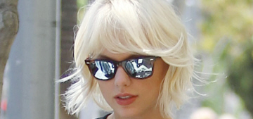 Will Taylor Swift keep her platinum-blonde hair color for the Met Gala?