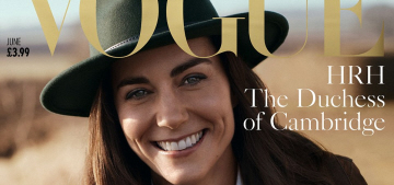 Duchess Kate posed for her first-ever British Vogue editorial: stunning or meh?
