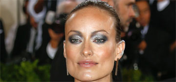 Olivia Wilde in Michael Kors at the Met Gala: cute, but does it fit the theme?