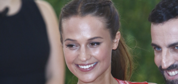 Alicia Vikander in Louis Vuitton at the Met Gala: adorable or not so much?