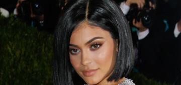 Kylie Jenner in silver Balmain at the Met Gala: budget Kim Kardashian 2.0?