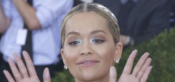 Rita Ora in Vera Wang at the Met Gala: Becky please or rather striking?