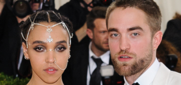 Robert Pattinson & a Versace-clad FKA Twigs at the Met Gala: lovely?