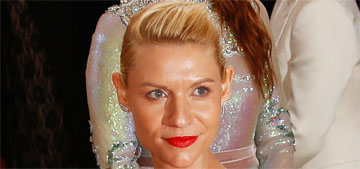 Claire Danes' Met gown was 'custom fiber optic organza with battery packs'
