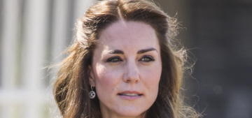 Duchess Kate repeats a Michael Kors coat for Magic Garden event: cute?