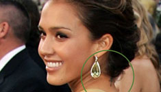 Jessica Alba and her family get tattoos
