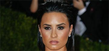 Demi Lovato is feuding with Nicki Minaj online, but Nicki is ignoring her